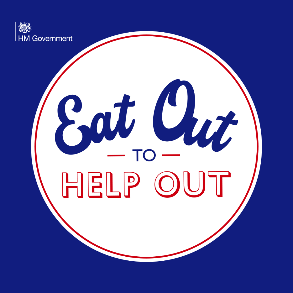 eat out to help out blue